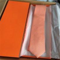 Silk Tie Slim Mens Ties Narrow Business Men Jacquard Woven Necktie Set 7.5cm With Box