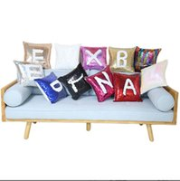 New style Sublimation Blank Magical Sequins item Pillowcase For Thermal Transfer Print DIY Gifts Crafts 40CM*40CM