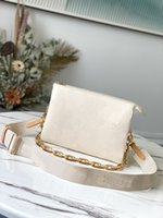 Spring Summer 2021 embossed puffy leather chain bag COUSSIN PM handbag fashion-forward shoulder bags cross-body with the strap top quality purse wallet M57790 M57793