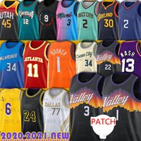 Chris Devin Paul Booker Jerseys Trae Giannis Young Antetokounmpo Dwyane Basketball Wade Luka Nash Doncic James Morant Angeles Lamelo Durant Ball Curry Barrett