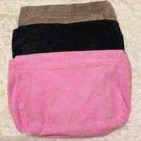 Fashion Towel velvet bag Oblique satchel single shoulder simple handbag ladies large capacity collection storage bag VIP Gift