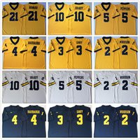 Discount peppers jersey michigan NCAA Michigan Wolverines football 10 Tom Brady College Charles Woodson Shea Patterson Jim Harbaugh Jabrill Peppers 21 Desmond Howard mens jersey