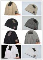 Wholesale-Free female Cute winter hat knitted ball beads hand hook warm acrylic ladies Good Quality Premium Headwear Sport Snapback Baseball Cap