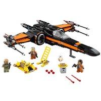 Star Wart X Wing Fighter Model Modle Building Blocks Bricks Toy Space Wars Spacecraft Spaceship