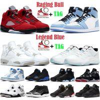 Jumpman Basketball Shoes men women 5s Raging Bull 6s Carmine 1s Dark Mocha 4s Black Cat 11s Legend Blue mens Outdoor Sports Sneakers