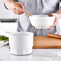 plastic kitchenware 2021 - Handheld Cup Shape Powder Sifter Electric Plastic Kitchenware Multifunction Baking Tool Flour Sieve Sugar Shake & Pastry Tools