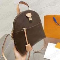 Alma Moon Backpack Designer Classic Half-Moon Shape Bag M44944 Cruise 2020ss Womens Canvas Coated Leather Crossbody Brown Flower Luxurys Brand Backpacks for Women