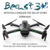 SG906 MAX1 & MAX Drones with 4K Camera for Adults, GPS Drone, 3 Axis Gimbal, Automatic Obstacle Avoidance, Long Flight Time, Follow Me Mode, 5G Wifi FPV, Electric RC Aircraft, 2-1