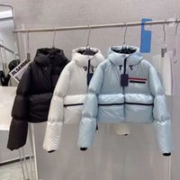 Women Jackets Vest Down Parkas With Budge Letters Button Zippers Adjust Coat Long Sleeves Tops For Lady Slim Warm Jacket Outfit Windbreaker
