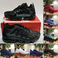 Air Max Vapormax Tn Plus Running Shoes For Men Women Worldwide Hyper Royal Light Triple Black Gym Red Airmax Vapor Sneakers Trainers Big Size 36-47