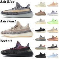 Top Quality 2021 ASH Pearl Blue Running Shoes Yecheil Mono Clay Mist Mens Womens Tennis Cinder Carbon Tail Lighte Linen Trainers Sports Sneakers