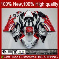 Moto Fairings For Aprilia RSV1000R Mille RV60 RSV-1000 RSV1000 R RR 04 05 06 Bodywork 11No.0 RSV1000RR RSV 1000 R 1000R 1000RR 2004 2005 2006 Bodys Kit Factory Red