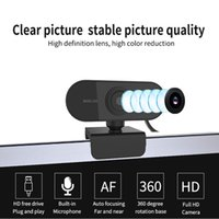 1080p Full HD Webcam with Microphone PC Laptop Computer Rotatable USB Web Camera for Video Calling Gaming Conference Online Classes