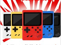 Discount pocket music player Portable Handheld video Game Console Retro 8 bit Mini Players 400 Games 3 In 1 AV Pocket Gameboy Color LCD DHL