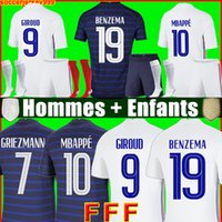 Maillot de foot Maillots football shirt 20 21 soccer jersey equipe equipment BENZEMA FEKIR PAVARD uniforms 2021 hommes enfants men + kids kit sets socks