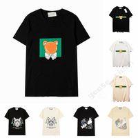 21ss Mens Womens Designers T Shirts Man Fashion men s clothes casual T-shirt Street Shorts Sleeve Women Clothing Tshirts 2021