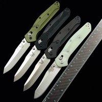 "Benchmade BM 940 940-1 AXIS Osborne Folding Knife 3.4"" S30V Blade, Aluminum Handle Outdoor Camping Hunting Pocket Kitchen Tool Practical EDC BM940 940BK 535 KNIVES"