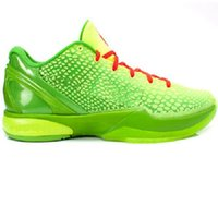 Grade school 2021 Black Mamba 6 kids Grinch Casual sneakers store men women good Basketball shoes outlet size 36-46