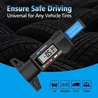 0-25.4mm Digital Tire Tread Depth Gauge Meter Measurer High Precision Tool Thickness Gauges Car Tires Vernier Caliper Measuring Gauging Tools
