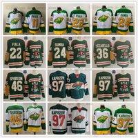 2022 Winter Classic Hockey MinnesotaWild 97 Kirill Kaprizov Jersey Reverse Retro 46 Jared Spurgeon 22 Kevin Fiala Matt Dumba Mats Zuccarello Zach Parise Ryan Suter