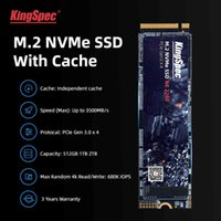 Discount hard drives for laptops KingSpec m2 ssd PCIe 1TB M.2 256GB SSD 2280 512GB 128GB NVMe M Key hdd dram for Desktop Laptop Internal Hard Drive with Cache Q0515