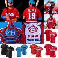2021 City Connect 19 Miguel Rojas Miami Jersey 2 Jazz Chisholm Jr. 15 Brian Anderson 14 Adam Duvall 22 Sandy Alcantara 36 Dylan Floro Sixto Sanchez John Curtiss