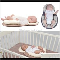Infant Born Mattress Sleep Positioning Pad Prevent Flat Head Shape Anti Roll Pillows Drop 40Zth Ranfh