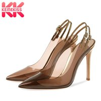 Wholesale low price dress shoes for sale - Group buy Dress Shoes KemeKiss Brand Low Price Women Pumps Super High Heel Buckle Sexy Club Show Party Dance Female Footwear Size