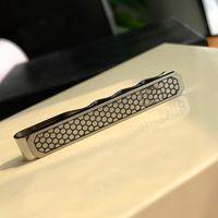 Luxury Tie Clips For Men High Quality Fine Steel Cufflinks Wedding Gift With Box Set