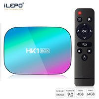 HK1 TV Box Amlogic S905X3 quad core 4+32 64GB Android 9.0 Support Bluetooth 5.0 2.4+5.0G WiFi SmartTV 1000M