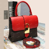 Women Luxury Designers LOCKY BB One Handle Padlock Tote Shoulder bags Genuine Leather Cross body Purses m44080 Bag M44141 M44322