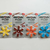 EPACK 60 PCS Rayovac Extra High Performance Hearing Aid Batteries. Zinc Air 13 P13 PR48 Battery for BTE Hearing aids