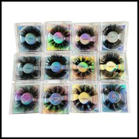 EPACK Mink Lash 8D 25MM Fluffy Lashes Packaging Wispy Fake Eyelashes Extension Handmade