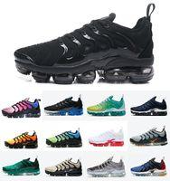 Top Quality Triple Black Royal Blue tn plus mens running shoes Atlanta Light Bone Metallic Gold Hyper Violet Lemon Lime women sports trainers sneakers