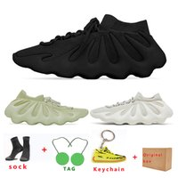 kanye 450 mens running shoes womens Cloud White Dark Slate Resin Breathable Comfortable fashion sports sneaker trainer size US5-11