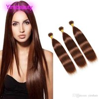 Wholesale Indian Virgin Raw Human Hair Bundles Color Silky Straight Three Pieces Color Pure Double Wefts inch
