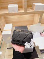 19 woc bags,Genuine leather Top quality mens women shoulder handbag Classic Messenger purse