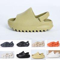 2021 fashion Summer sandal Children shoes boy girl youth kid Kanye west Slide Desert Sand Beach slipper foam runner Bone