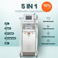 2021 LLLT multifunction OPT ipl laser hair removal nd yag remove lasers tattoo machine rf face lift elight shr