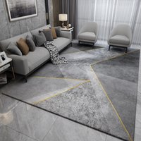 Wholesale Modern Minimalist Bedroom Carpet Light Luxury Advanced Table Carpet Nordic Living Room Sofa Floor Mat Large Area Home Carpet