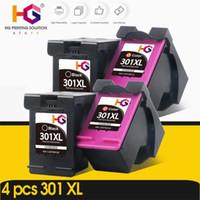 Wholesale toners cartridge resale online - 4pcs Remanufactured For Toner Cartridge XL XL Ink Cartridges Envy Deskjet Printer