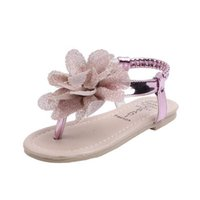 Sell Summer Fashion Girls Sandals Kids Gladiator Toddler Child Flower High Quality Shoes