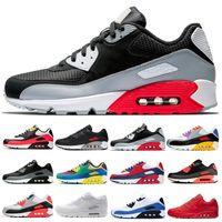 2021 Cushion 90s Women Men Running Shoes College Red Hyper Grape OG Reverse Duck Camo Triple Black White mens sport Sneakers 36-46