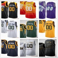 Discount jersey number printing Custom Printed Basketball Jersey Top Quality 2022 City Purple Green White Blue Yellow Jerseys. Message Any number and name on the order