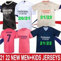 21 22 SERGIO RAMOS HAZARD BENZEMA Real 20 Madrid Soccer Jerseys MODRIC 2021 2022 ASENSIO MARCELO Football Shirt Men Kids Kits Fourth Camiseta