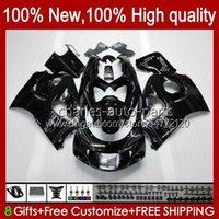 Bodywork Kit For SUZUKI SRAD GSXR 600CC 750CC 750 600 CC 96-00 Body 22No.38 GSXR-750 GSXR600 1996 1997 1998 1999 2000 GSXR750 GSX-R600 96 97 98 99 00 Fairing black glossy