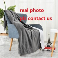 150*200cm Vintage Home Blanket Fashion Letters Pashmina Portable Warm Sofa Throw Blankets Scarves Shawl for Adults Kids