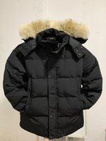 21SS FW Mens Down Jackets Veste Homme Outdoor Winter Jassen Outerwear Big Fur Hooded Fourrure Manteau Down Jacket Coat Hiver Parka Doudoune