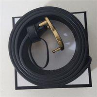 Fashion luxury belt buckle belt designer design of men and women of high quality men's gold buckle belt