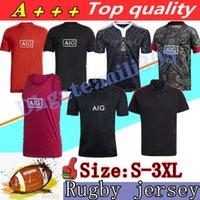 New 21 22 Zealand Super Rugby Jerseys Vest shorts 2021 2022 top quality Polo shirt 100 year Anniversary Commemorative Edition Retro classic jersey S-3XL